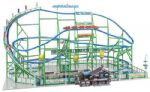 Faller 140410 Alpina-Bahn Rollercoaster Fairground Kit with Motor VI